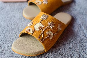 Ladies Embroidered Footwear 03