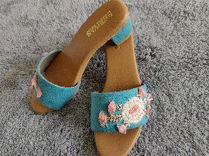 Ladies Embroidered Footwear 22
