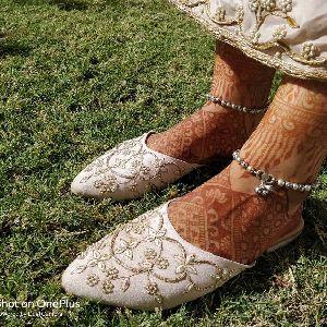 Ladies Embroidered Footwear 24