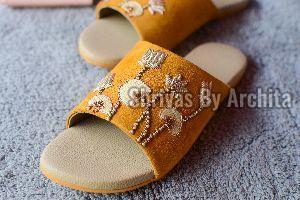 Ladies Embroidered Footwear 03