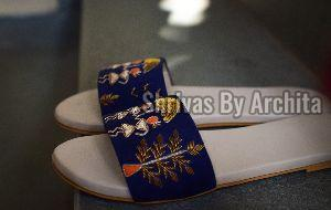 Ladies Embroidered Footwear 05