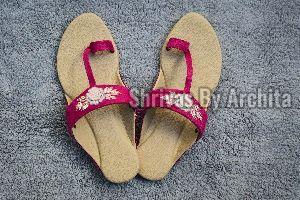 Ladies Embroidered Footwear 13