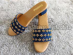 Ladies Embroidered Footwear 21