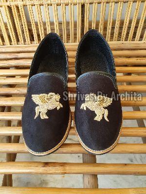 Mens Embroidered Footwear 06