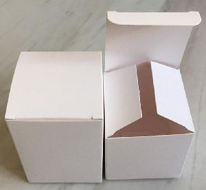 White Corrugated Paper Box