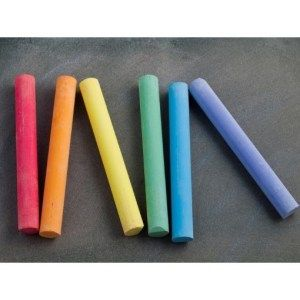 Dustless Coloured Chalk