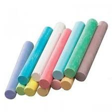 Multi Colored Chalk Sticks