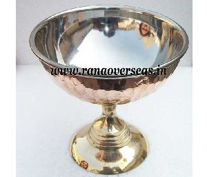 Copper Steel Ice Cream Cup