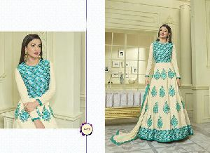 Ladies Fancy Long Gown