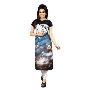 Ladies Half Sleeve Casual Wear Kurti
