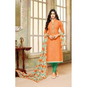 Ladies Stylish Cotton Suit