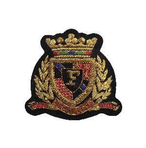 Bullion Wire Badge 01