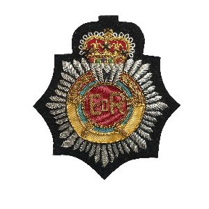 Bullion Wire Badge 02