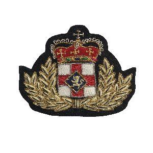 Bullion Wire Badge 03
