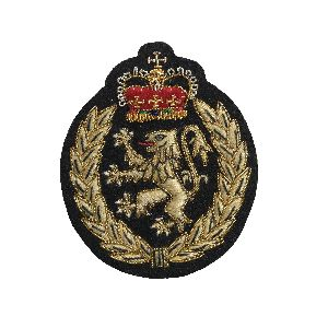 Bullion Wire Badge 04