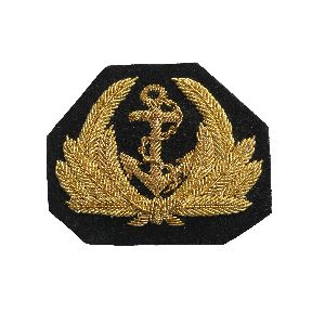 Bullion Wire Badge 05