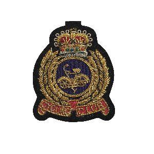 Bullion Wire Badge 08
