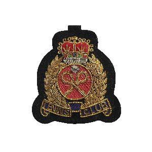 Bullion Wire Badge 09