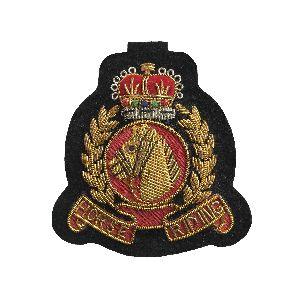 Bullion Wire Badge 10