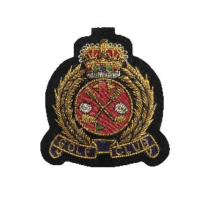 Bullion Wire Badge 11