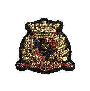 Bullion Wire Badges