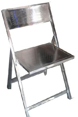 Chrome Plated Folding Chair 01