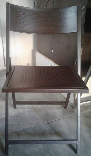 Chrome Plated Folding Chair 04