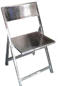 Chrome Plated Folding Chairs