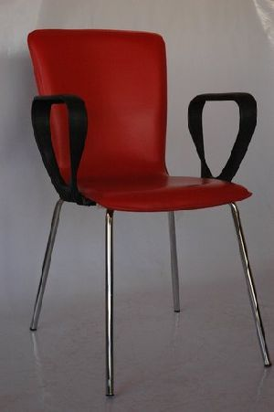 Leather Visitor Chair 01