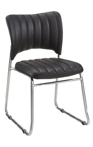 Leather Visitor Chair 03