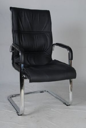 Leather Visitor Chair 04