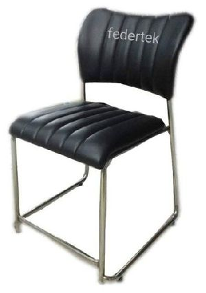 Leather Visitor Chair 06