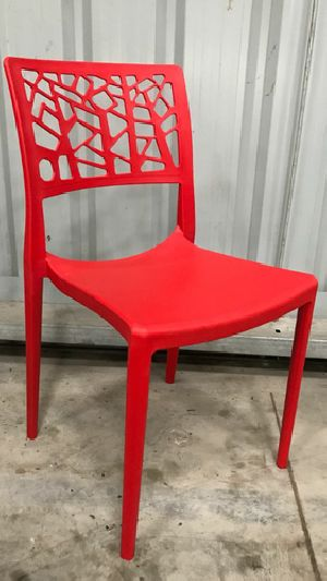 Polypropylene Cafeteria Chair 01