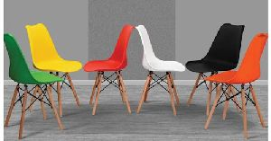 Wooden Legs Cafe Chair 02