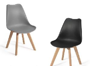 Wooden Legs Cafe Chair 03