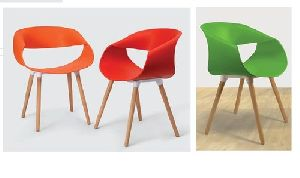 Wooden Legs Cafe Chair 05