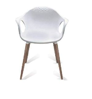 Wooden Legs Cafe Chair 06