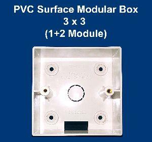 3 X 3 PVC Surface Modular Box