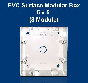 5 X 5 PVC Surface Modular Box