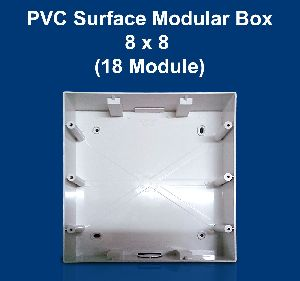 8 X 8 PVC Surface Modular Box