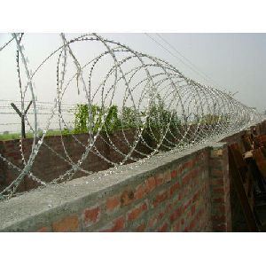 Galvanized Iron Concertina Wire