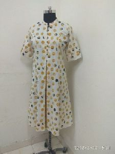 Cotton Flex Printed Kurti