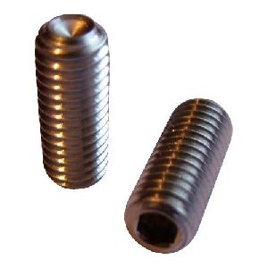 Brass Cup Point Grub Screw
