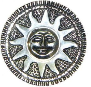 4 Inch Sun Round Incense Burner