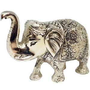 Aluminium Elephant Statue
