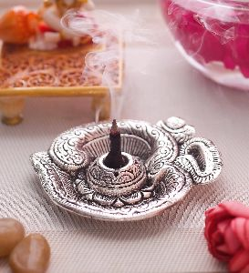 Aluminium Om Incense Holder