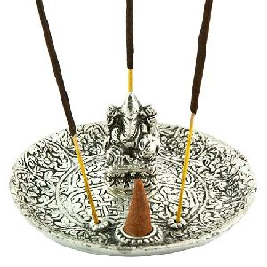 Lord Ganesh Carved Incense Sticks Holder