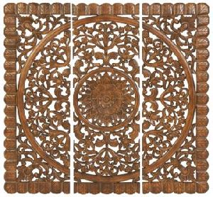 Wooden Carved Wall Panel