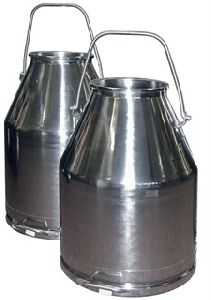 Stainless Steel Milk Collection Buckets