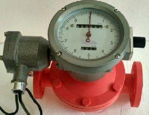 Mechanical Oil Flow Meter